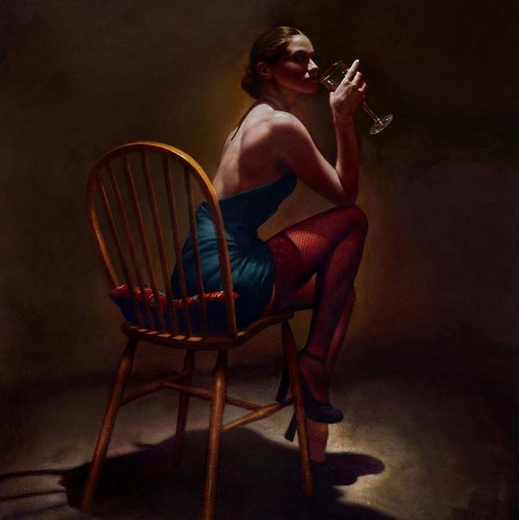 Художник Hamish Blakely. Живопись – это страстное танго