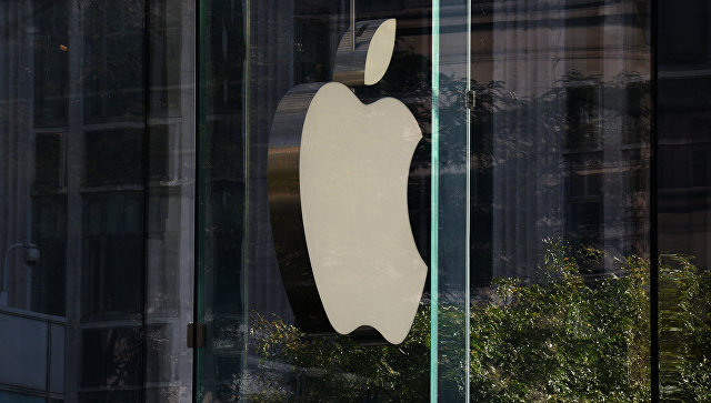 Логотип компании Apple в Нью-Йорке. Архивное фото