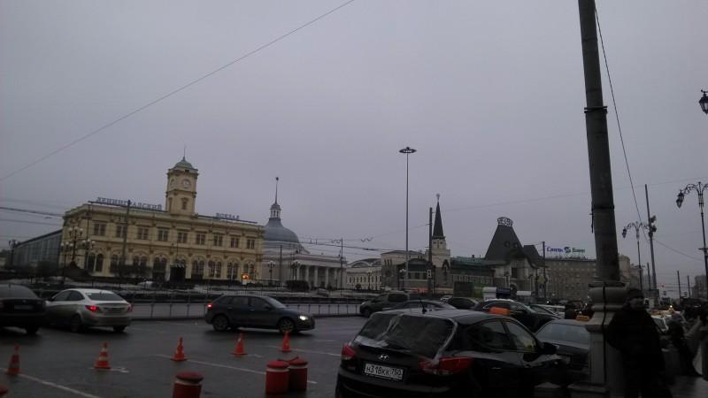 Площадь трёх вокзалов ( Комсомольская)