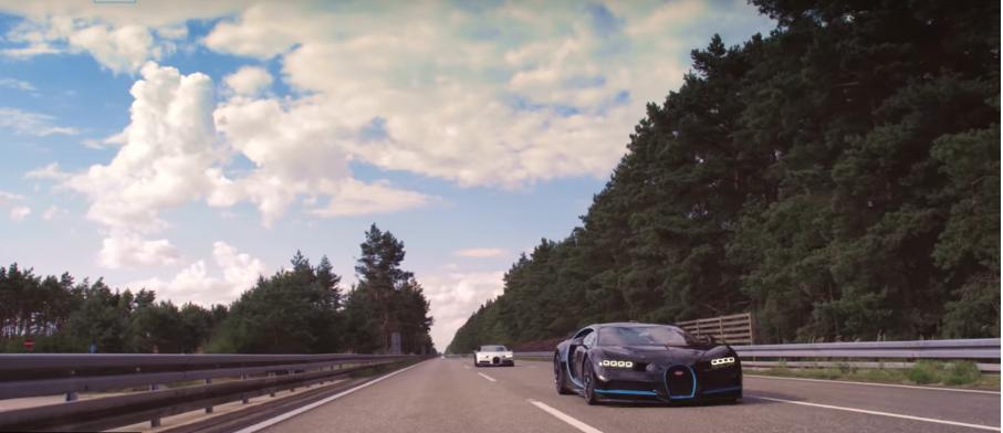 Как снимали видео про разгон Bugatti до 400 км/ч?