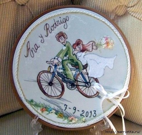 Вышиваем велосипед. Идеи со схемами (23) (491x467, 177Kb)