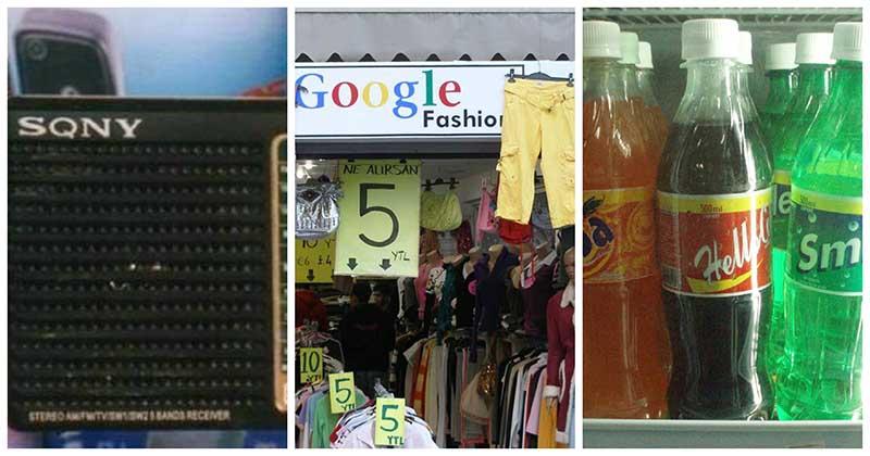 «Шедевры» из Китая: 25 самых нелепых подделок именитых брендов