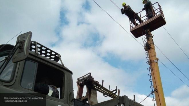 О том, зачем Киев отключил электричество в ЛНР