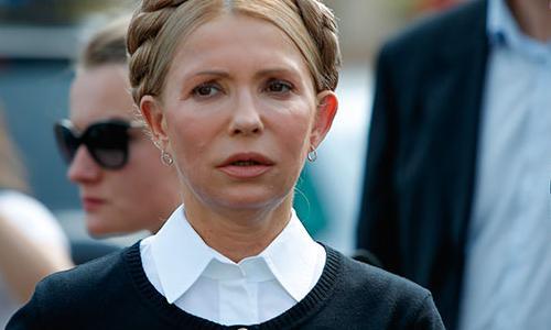 Тимошенко заняла первое место в президентском рейтинге на Украине