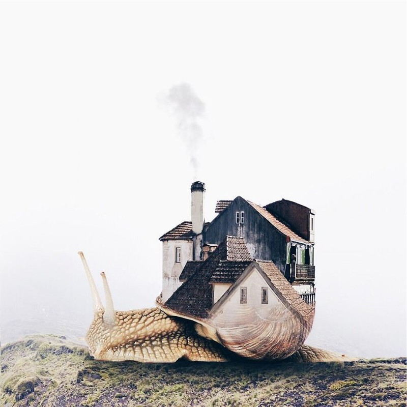 Фото-магия: сюрреалистичные композиции художницы из Португалии art, воображение, искусство, красиво, креатив, оригинально, сюрреализм, творчество