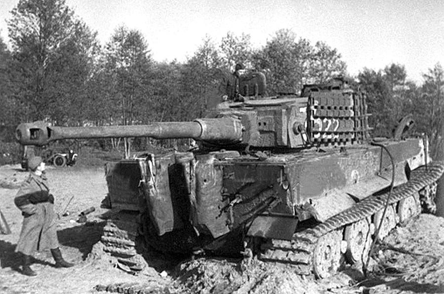 """Неизвестные страницы войны:   охота  немцев на  """"Тигра"""""""