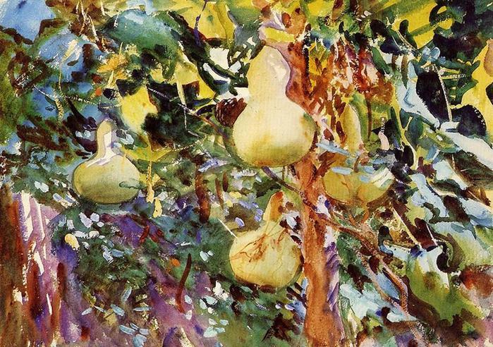 Джон Сингер Сарджент. Великолепные акварельные пейзажи самого выдающегося портретиста своего времени
