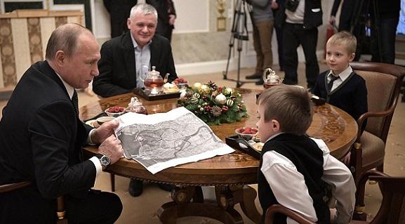 Путин исполнил обещание данное тяжело больному мальчику