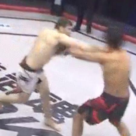 Боец MMA из России обманом отправил противника в нокаут