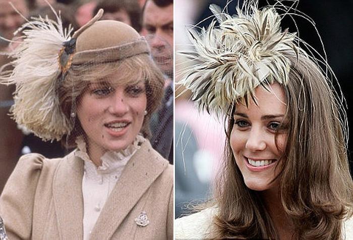 Модная реинкарнация: сравниваем стиль принцессы Дианы и Кейт Миддлтон