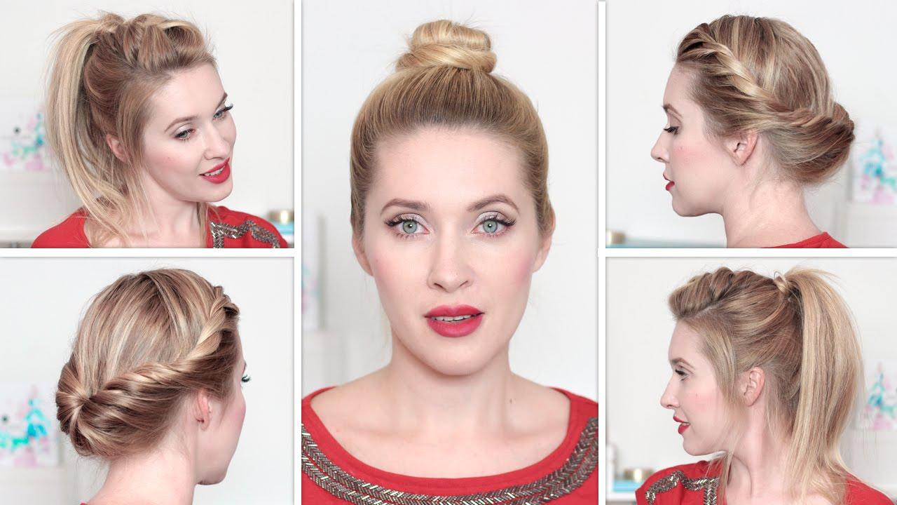 Картинки по запросу Причёски на каждый день на работу для средних и длинных волос