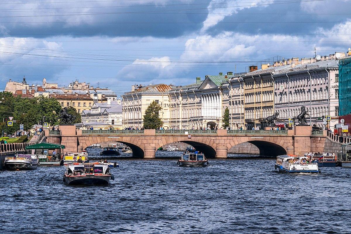 Знаменитые мосты Петербурга. Аничков мост