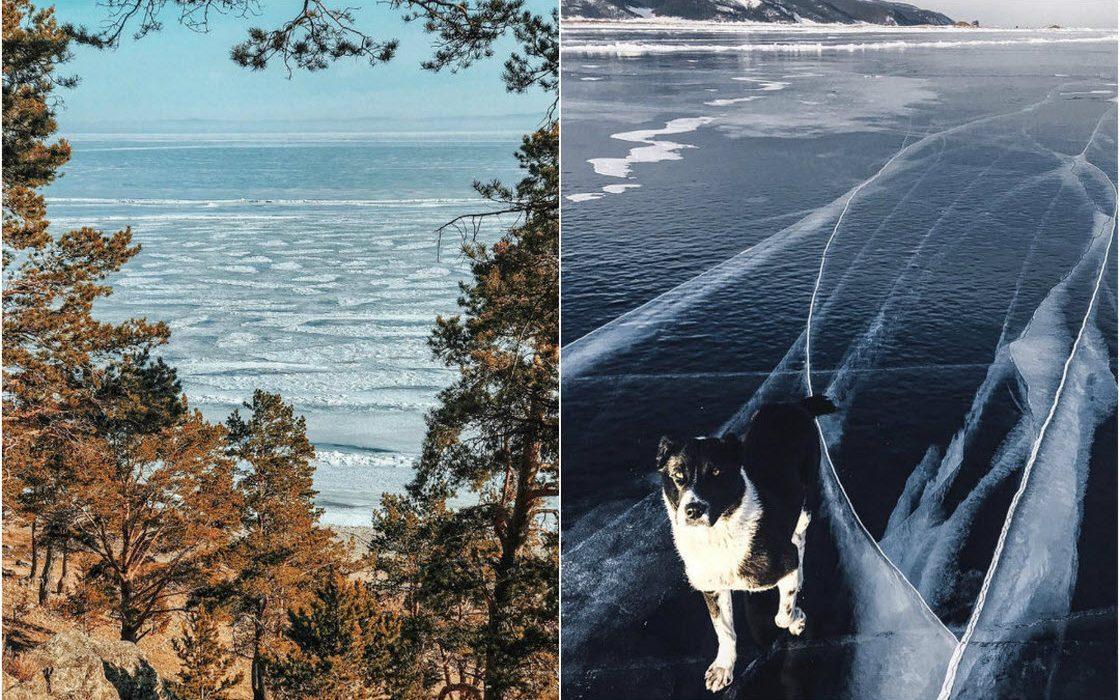 Живописные пейзажи Байкальского региона и Сибири