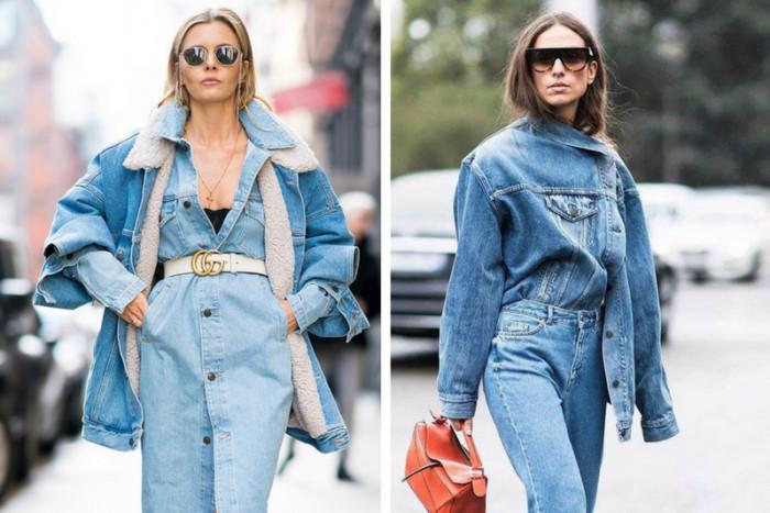 С чем сочетать джинсовую куртку и джинсы, чтобы выглядеть стильно
