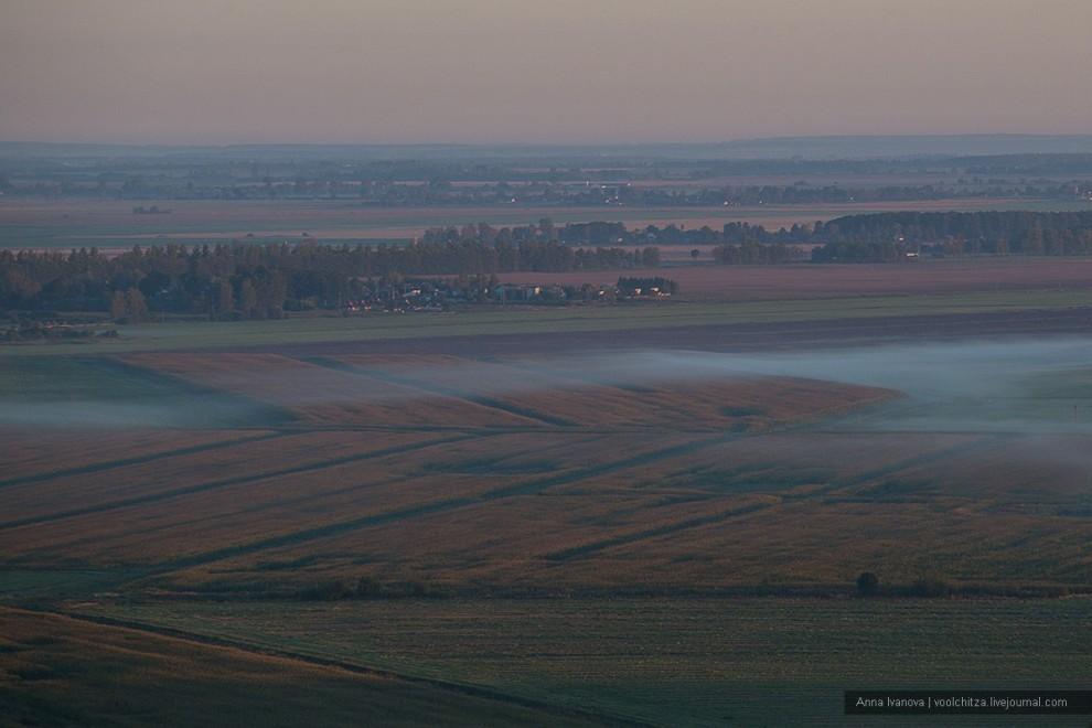 Неземные пейзажи Белоруссии