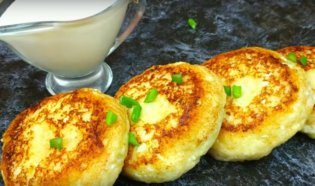 Необычные сырники с картофелем