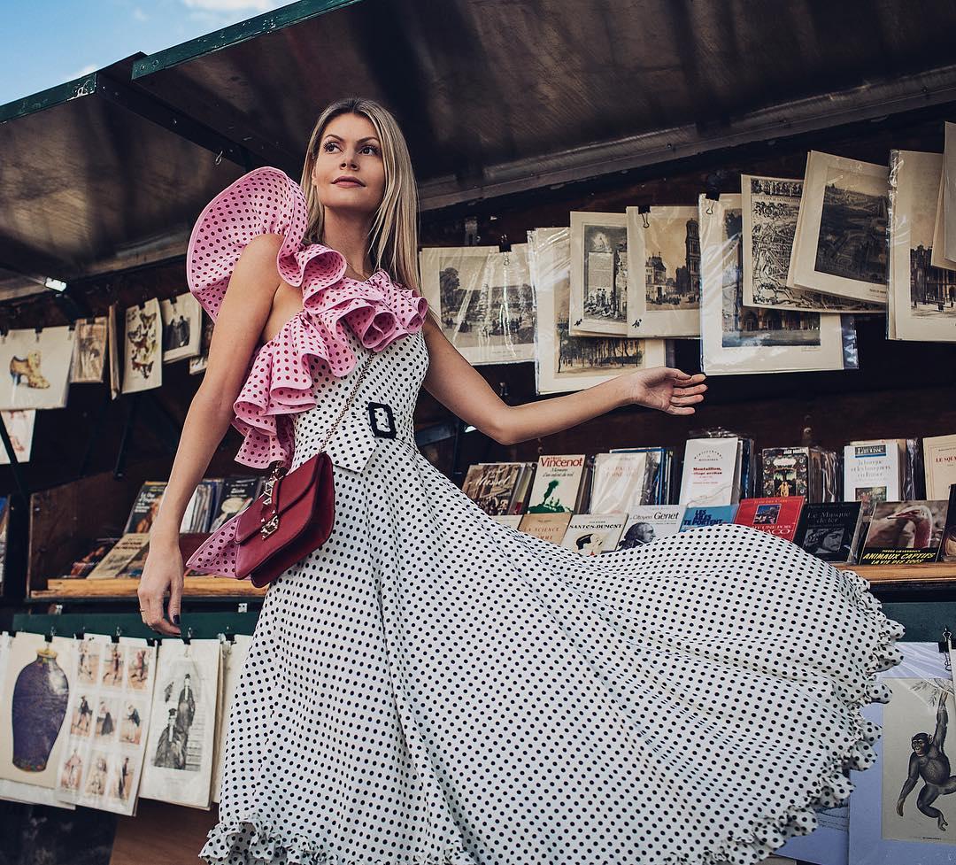Уличная мода: модный принт горошек