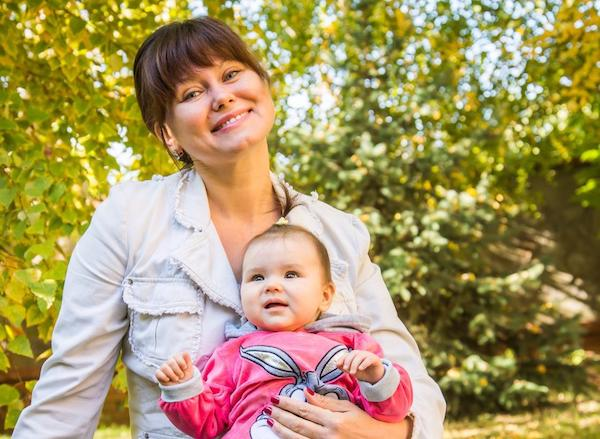 Родить ребенка после сорока не страшно!