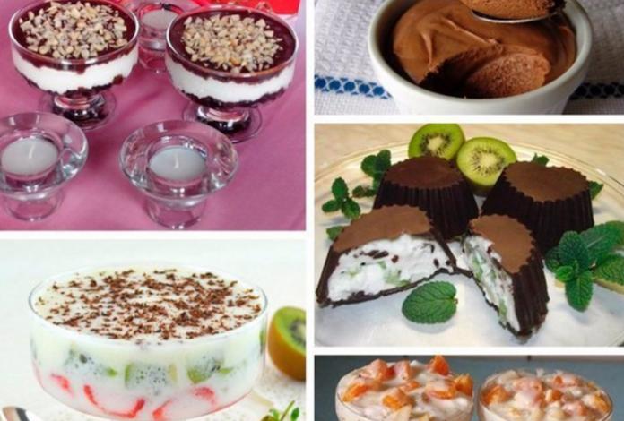 Топ–5 отличных десертов для выходных