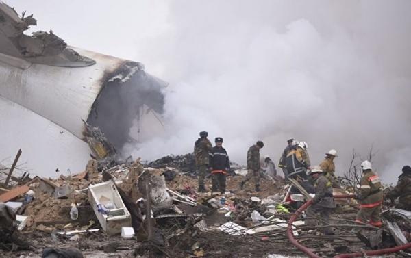 Под Бишкеком рухнул турецкий грузовой самолет— погибли 35 человек