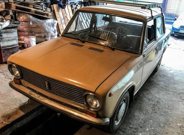 Обнаружен ВАЗ-21013 в идеальном состоянии
