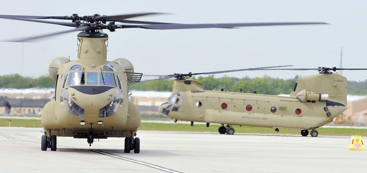 Планируемая поставка Испании 17 транспортных вертолетов CH-47F Chinook