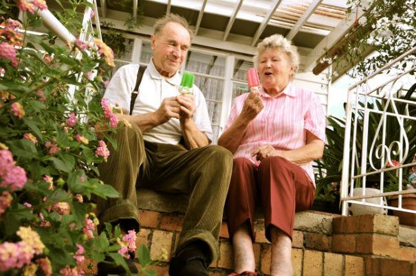 И в старости бывает весело ))) «Старость в радость!»