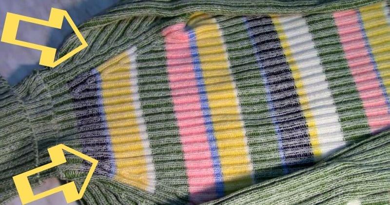 Из старого свитера — в прекрасную вещицу за один вечер