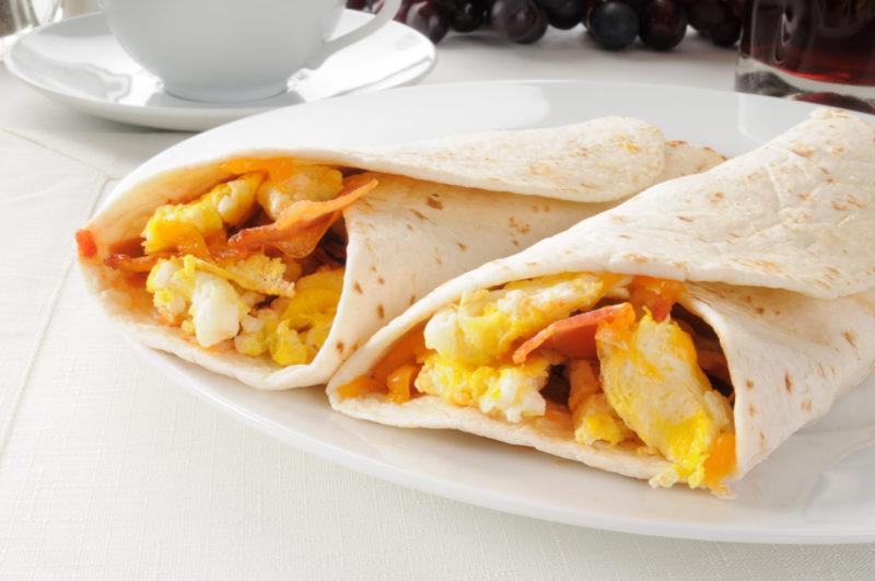 Изображение рецепта Буррито с яйцом