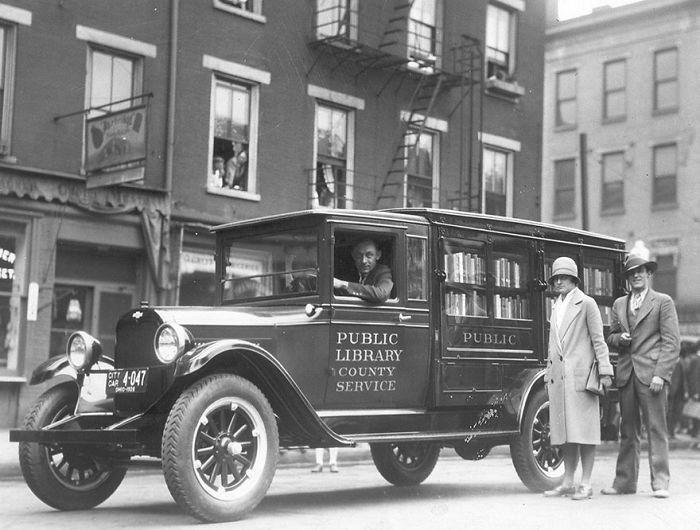 Фотографии передвижных библиотек из прошлого библиотека, библиотека на колесах, ретро фото
