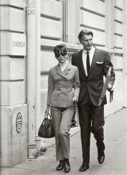 История любви Одри Хепбёрн и Юбера де Живанши