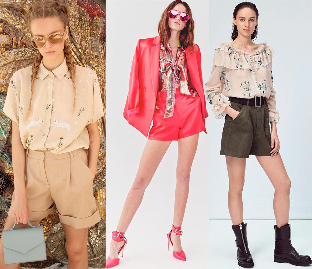 Модные женские шорты весна-лето 2018