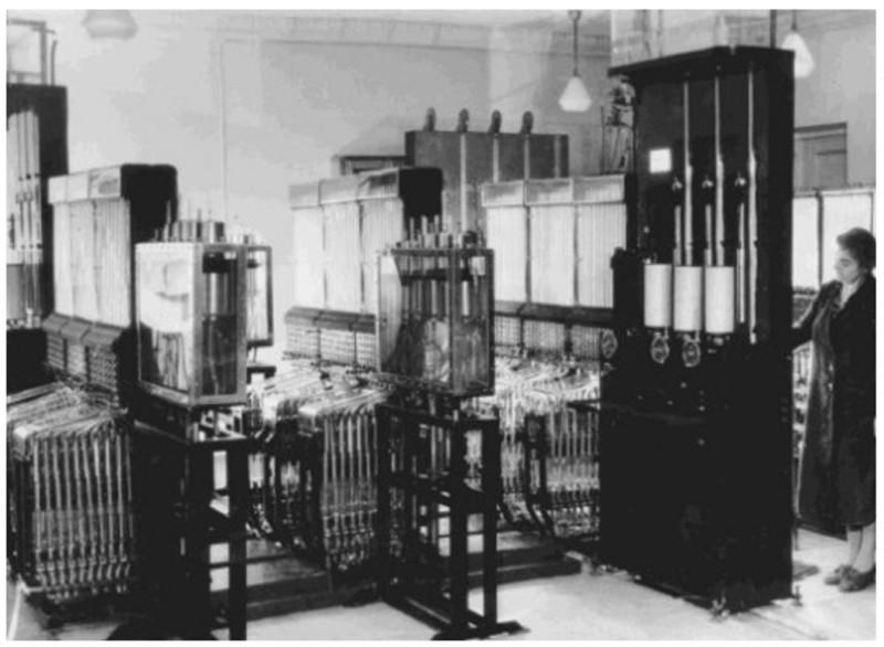 Шедевр советской инженерии - компьютер на воде