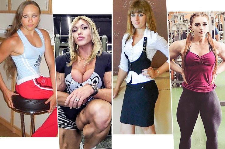Королевы качалки: невероятные преображения девушек до и после спорта