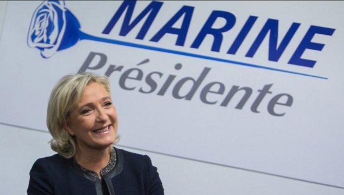 Марин Ле Пен назвала Меркель «штатовской прислугой»