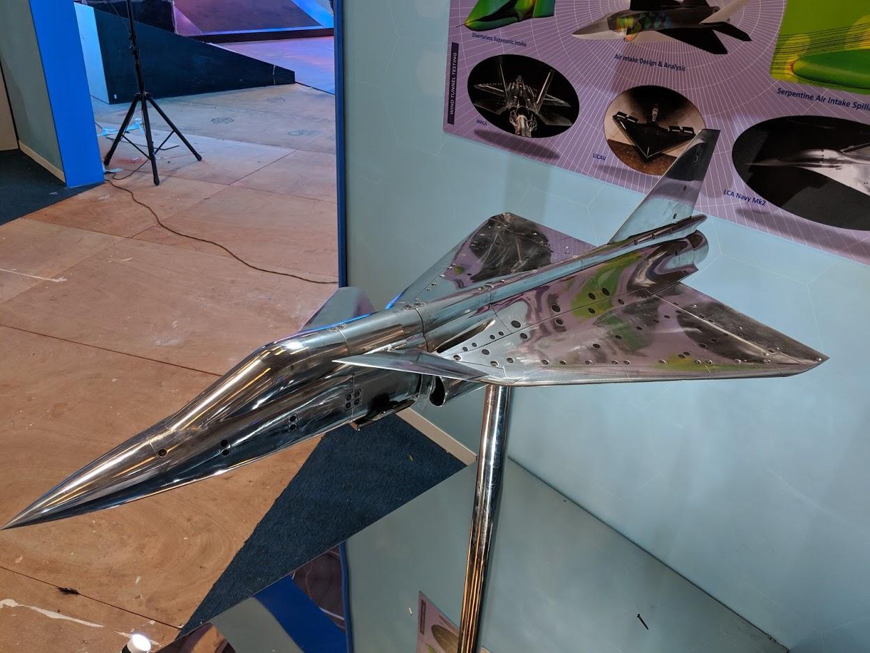 Фрагменты индийской экспозиции на выставке Aero India 2019 в Бангалоре