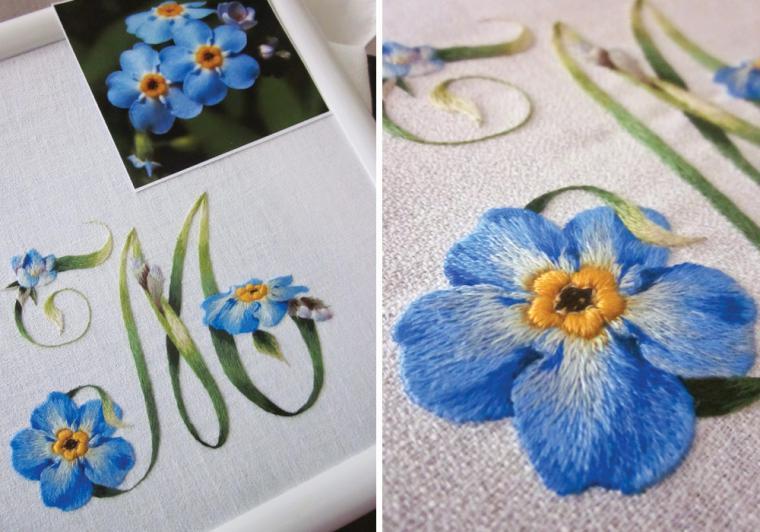 Изящные вышивки итальянского мастера Elisabetta Ricami