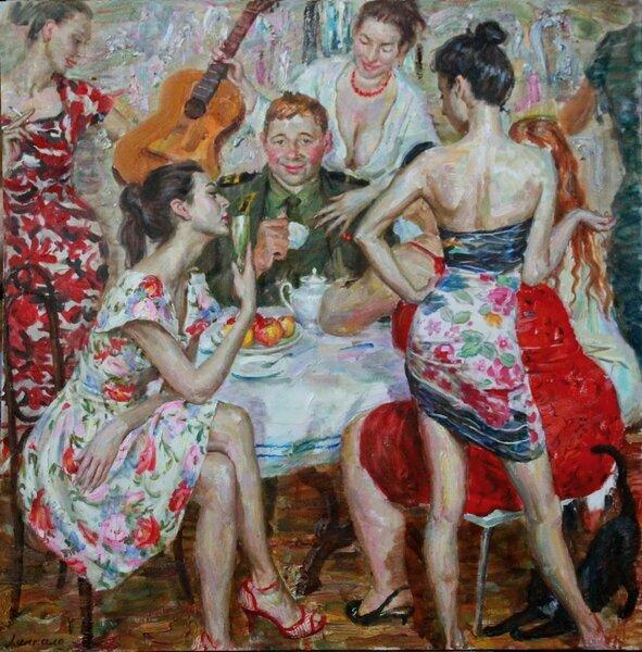 «Наши женщины»-художника Виктора Ляпкало