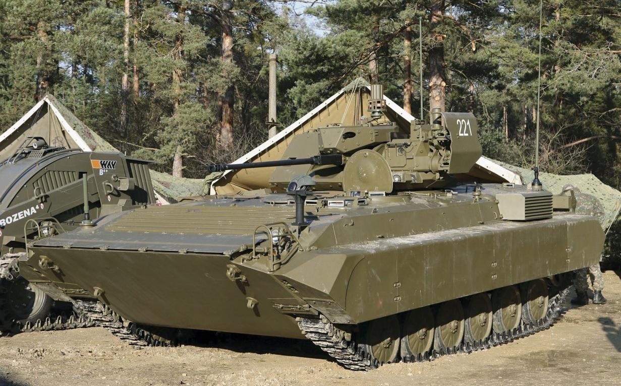 Словацкая модернизированная боевая разведывательная машина BPsVI
