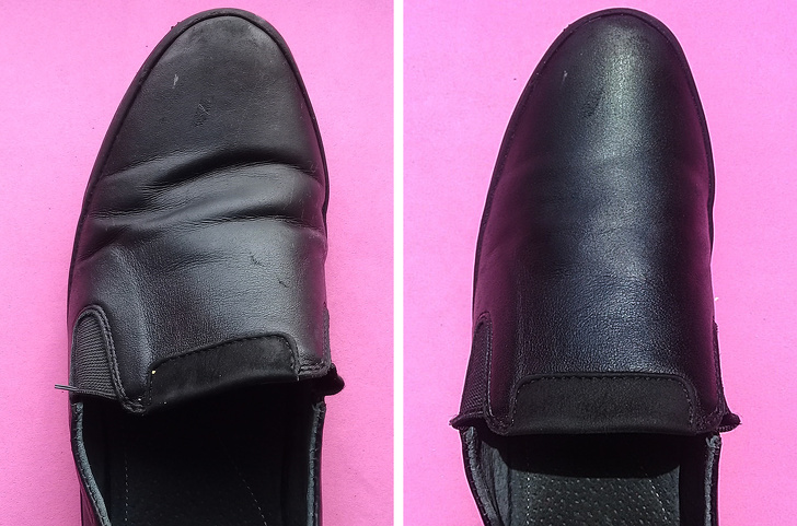 Мы проверили, можно ли разгладить складки на обуви, и еще 2 метода реанимации, которые пригодятся летом
