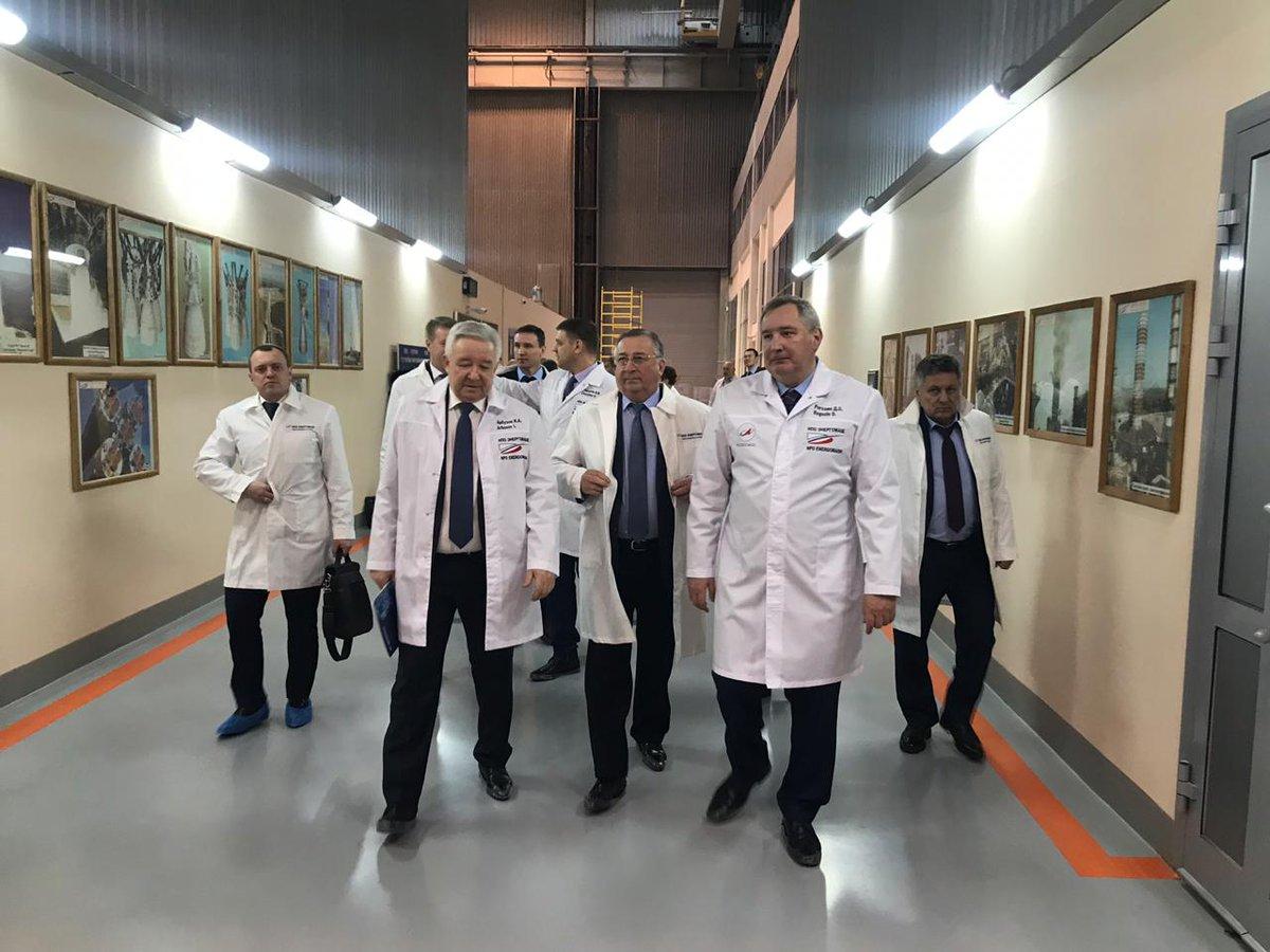 Рогозин заявил о готовности первого образца самого мощного в мире ракетного двигателя