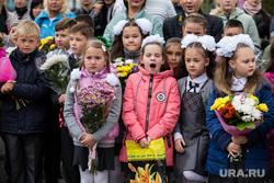 День знаний в поселке Нижнесортымский. Сургут , линейка, первое сентября, школа, 1сентября