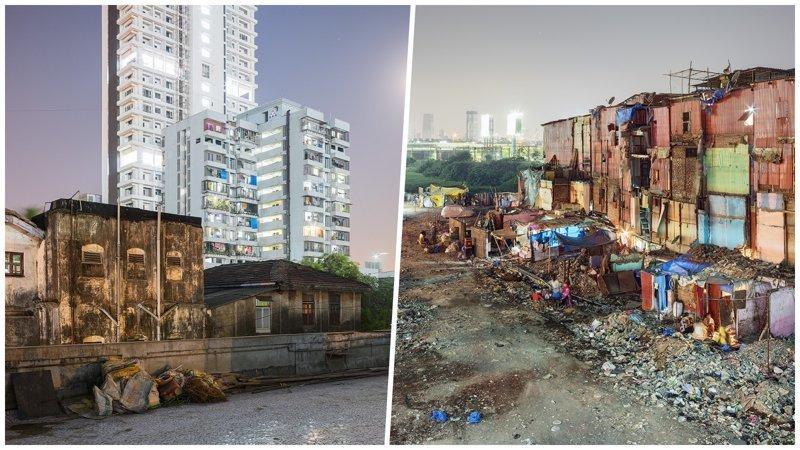 Богатство и нищета Мумбаи в объективе польского фотографа
