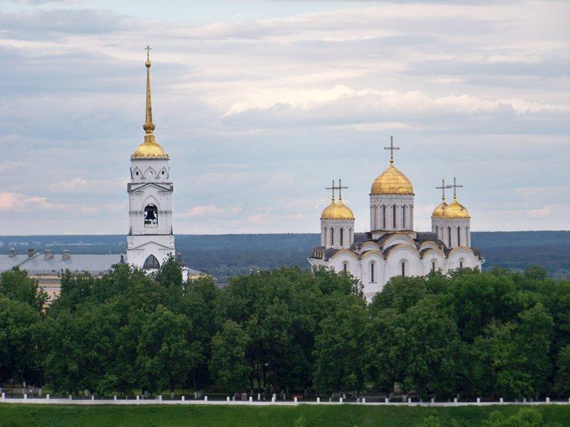 Город Владимир Города России, владимир, владимирская область, красивые места, пейзажи, путешествия, россия