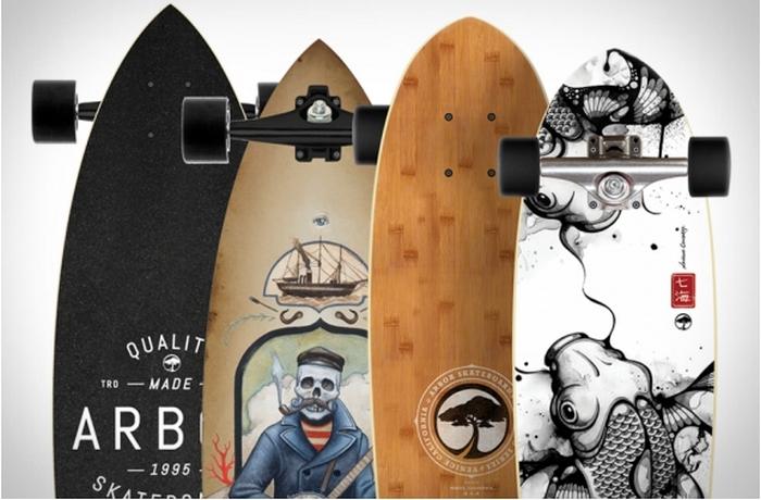 Экологичные скейтборды ручной работы, которые позволяют почувствовать себя настоящим экстремалом