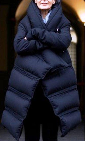 Пуховик-одеяло: стильно и тепло