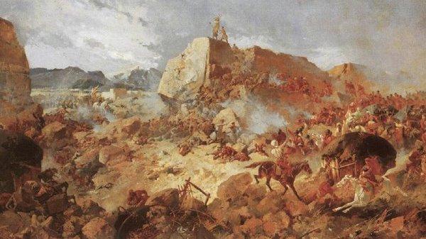 Подвиг русского артиллериста…