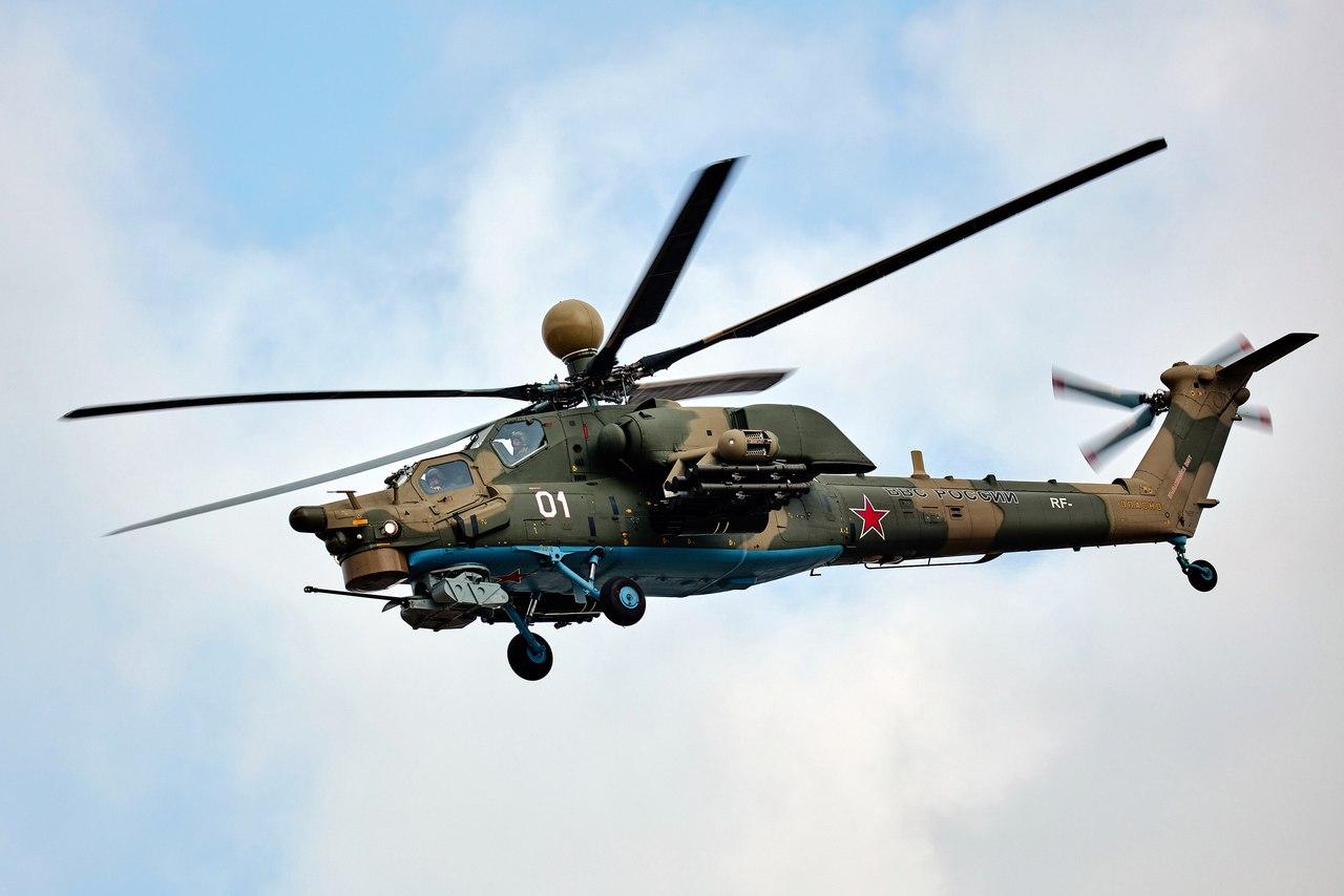 Первая партия серийных вертолетов Ми-28УБ готова к передаче Министерству обороны России