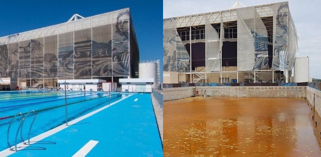 Олимпийский парк в Рио превратился в хлам