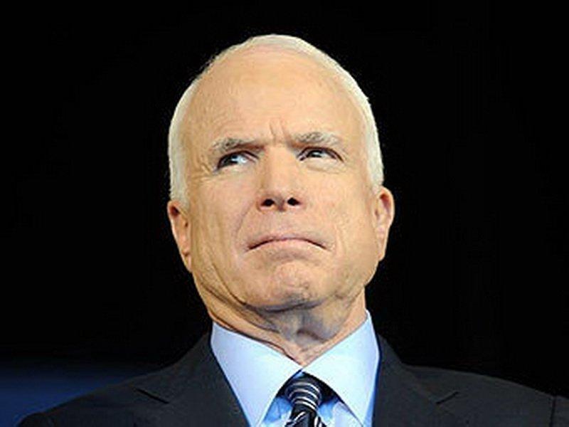 Маккейн — Трампу: Да, Обама был мягким. Дайте Украине летальное оружие